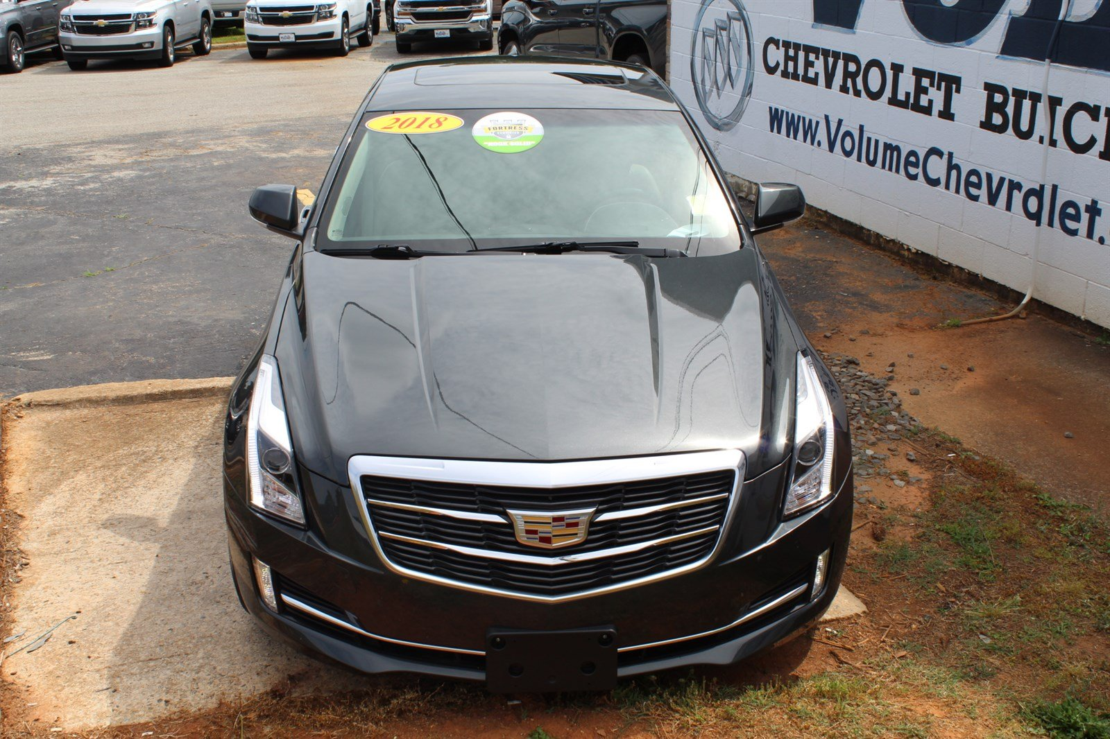 Pre-Owned 2018 Cadillac ATS Sedan Premium Luxury RWD