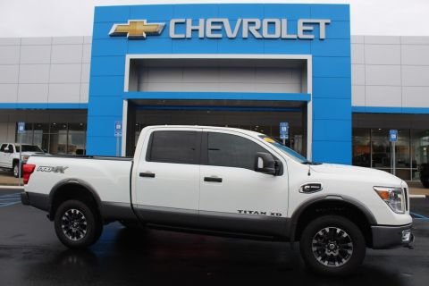 Pre-Owned 2018 Nissan Titan XD PRO-4X With Navigation & 4WD