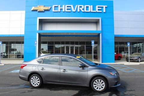 Pre-Owned 2018 Nissan Sentra S FWD 4dr Car